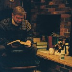 Reading the Christmas story, ca. 2000