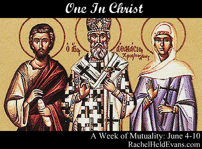 St. Junia, far right.